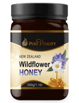 Native Wildflower Honey 500g - Pure Vitality Limited