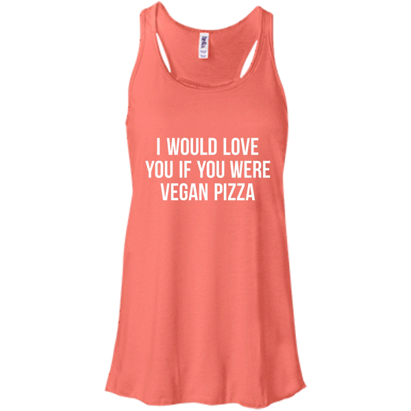 Vegan Pizza Flowy Tank