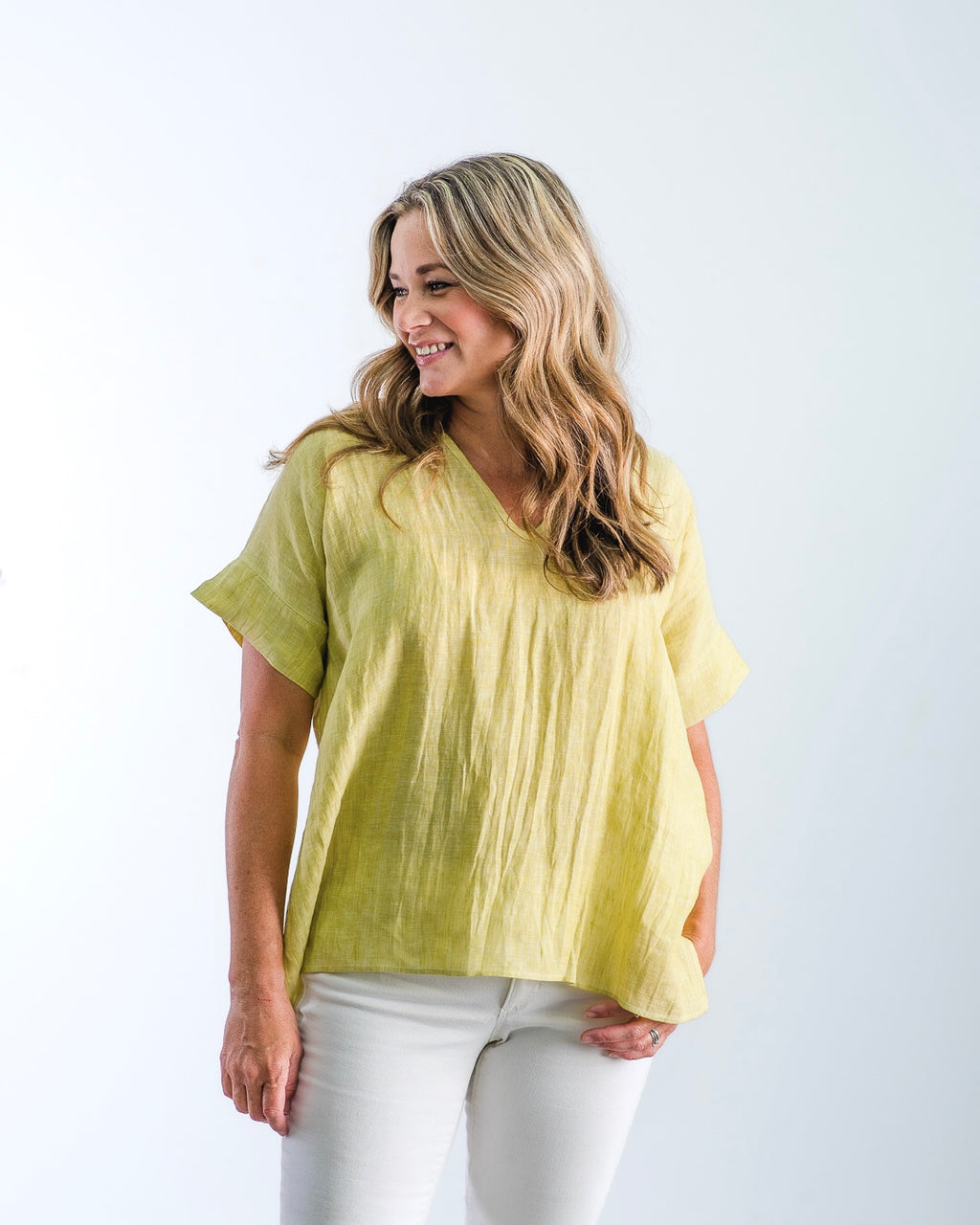 The Nicole - Citrus Linen
