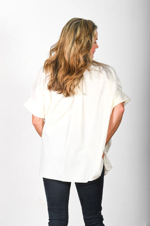The Tikaa - Cream Poplin