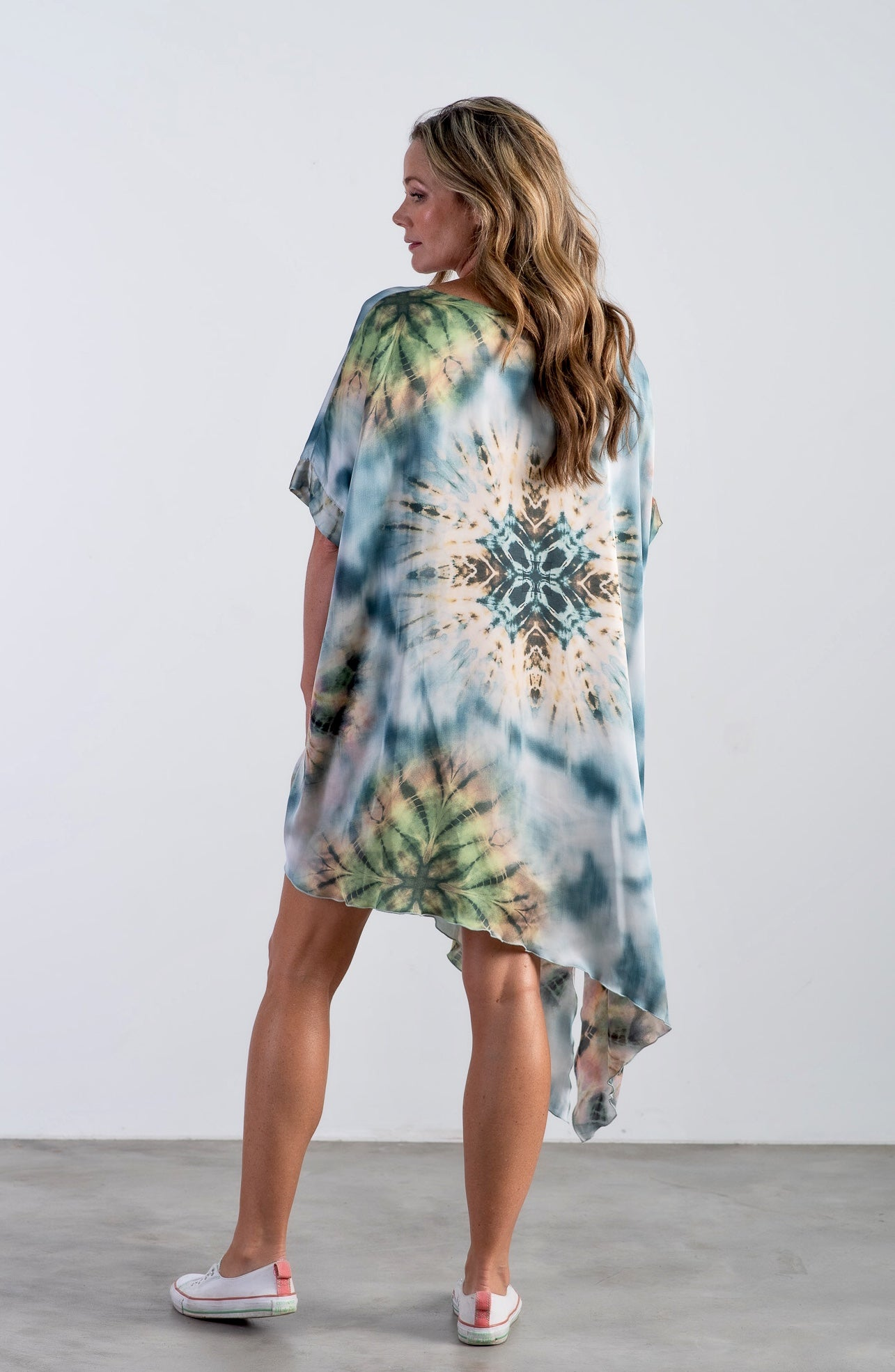 The Madison - Blue Tie Dye