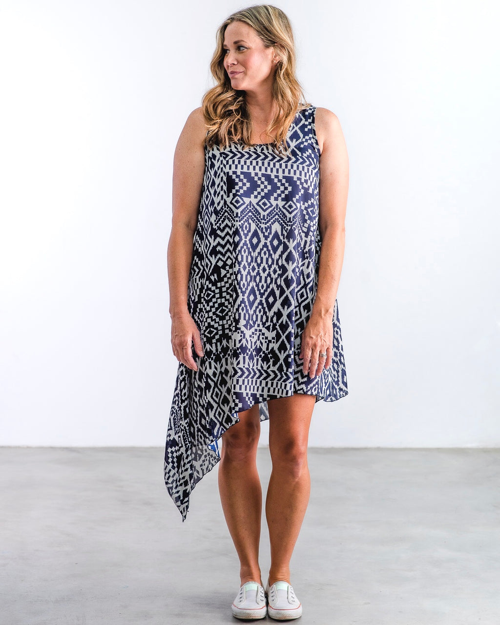 The Laura - Navy Tribal