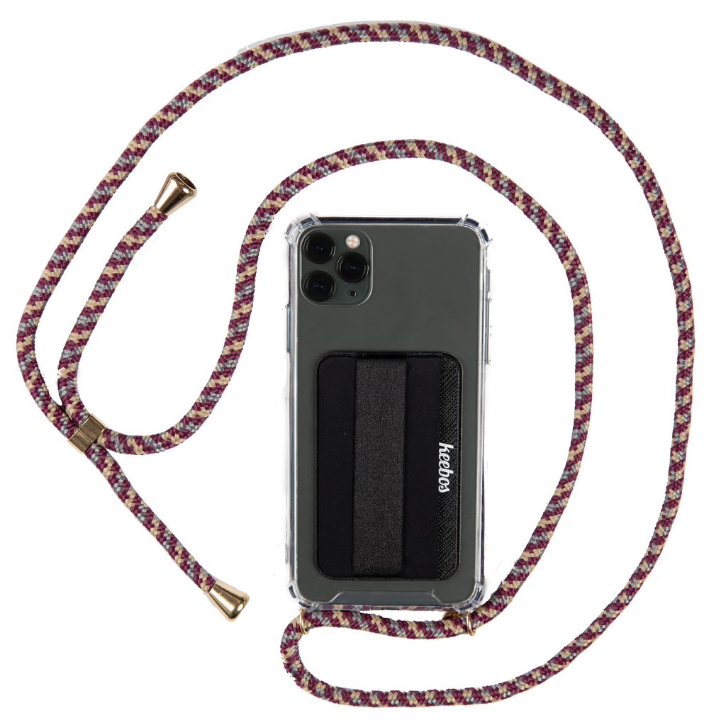 Keebos - The Best Cell Phone Lanyard Case