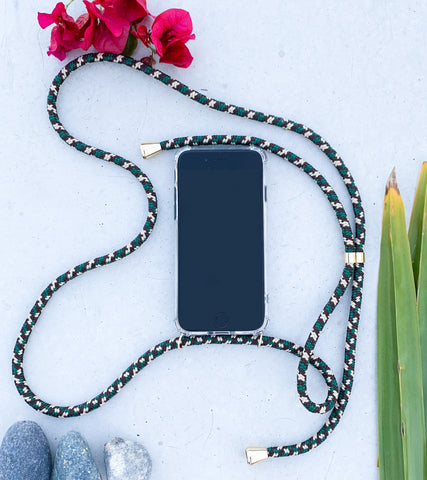 Keebos phone necklace holder for iphone 7 8 plus xs max xr iphone 11