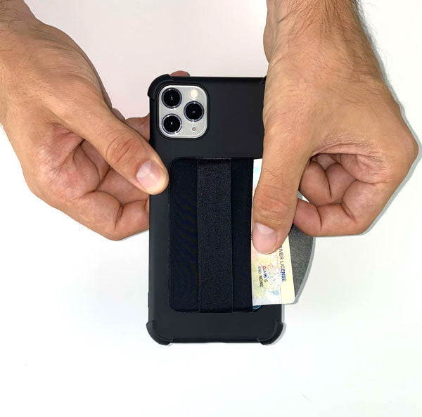 Wallet-cell-phone-case-black
