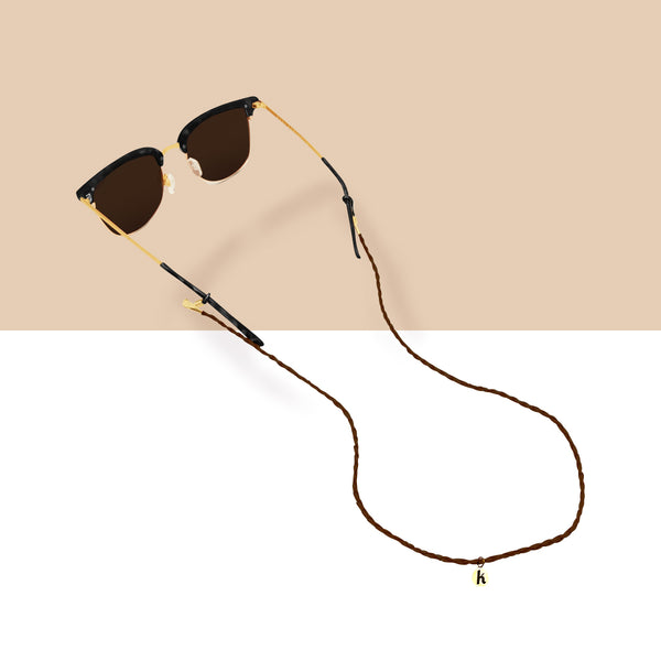 Brown Sunglass Strap