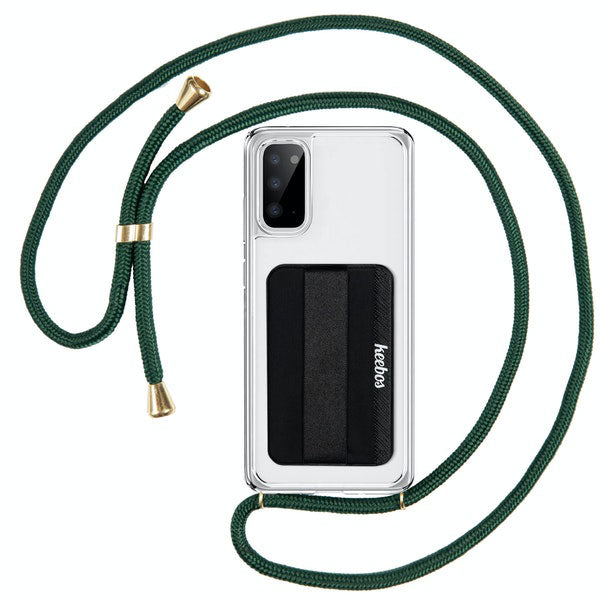Green-samsung-crossbody-phone-case-lanyard