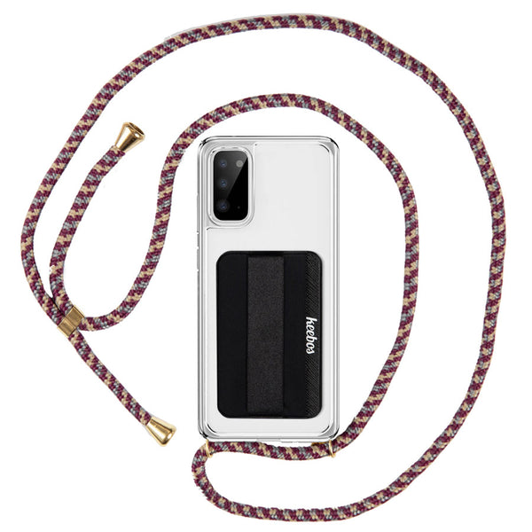 Red Samsung Crossbody Phone Case