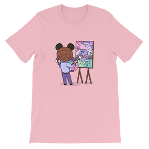 Painting the Magic T-Shirt