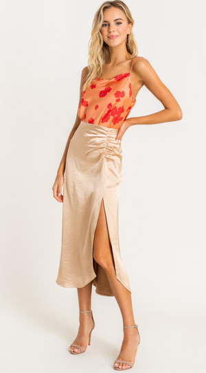 Date Night Midi Skirt