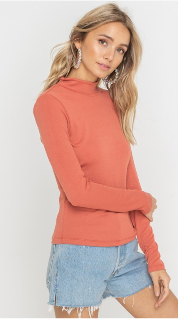 Let Go Top in Coral