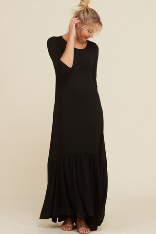 High Low Maxi Dress - Curvy Girl