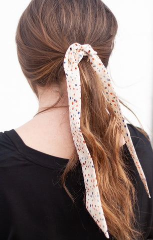 Speckled Hair Scarf