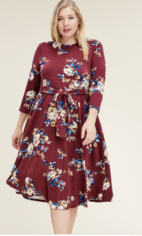 Fall Florals - Curvy Girl Exclusive