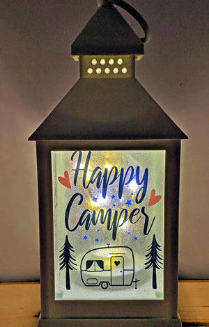 Happy Camper LED Lantern