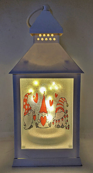 Gnomes Love LED Lantern