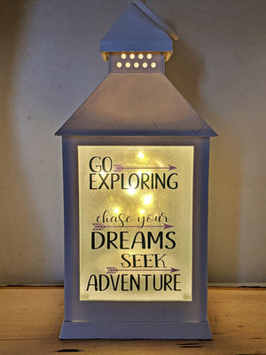 Dream Quote Lanterns