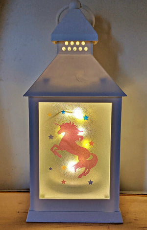 Unicorn Wishes LED Lantern