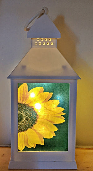 Sunflower LED Lantern