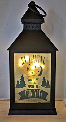 RV having fun yet? LED Lantern