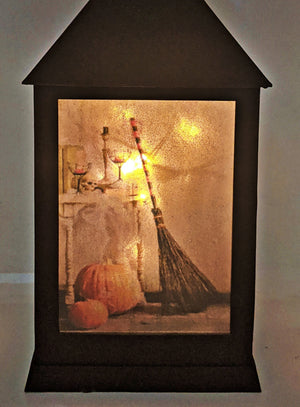 The Witch Is In LED Lantern