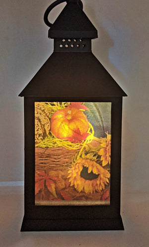The Colors of Fall LED Lantern