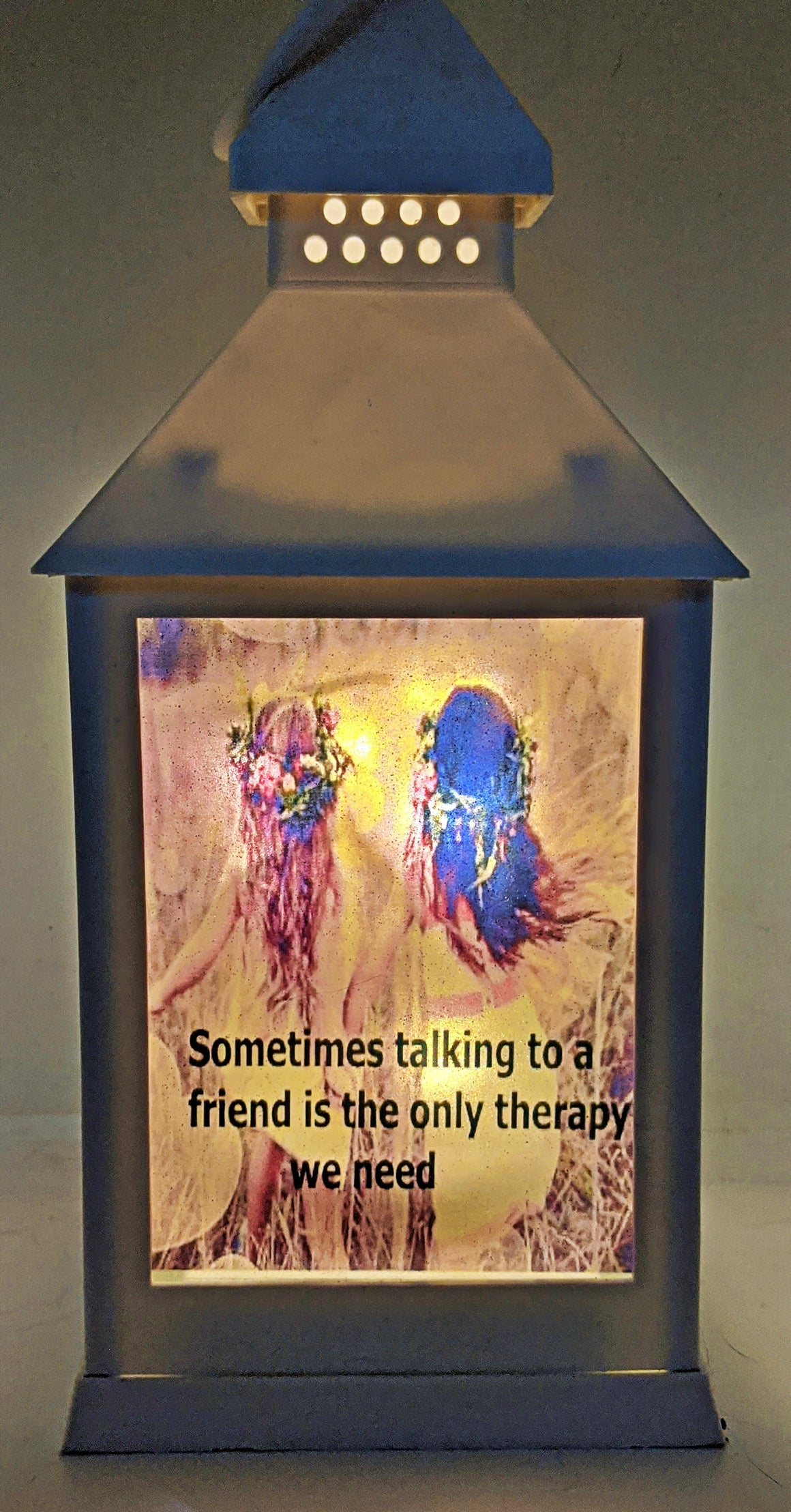 Sentimental Friendship LED Lantern