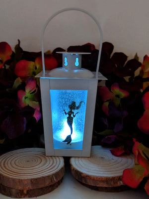 Mini Mermaid LED Lantern