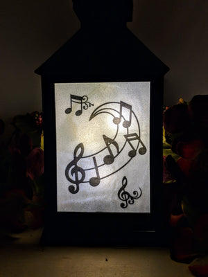 When Words Fail Music Speaks LED Lantern