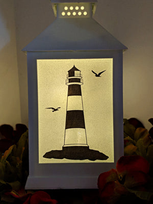 Lighthouse LED Lantern