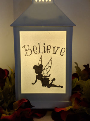 Fairy Inspirational LED Lantern
