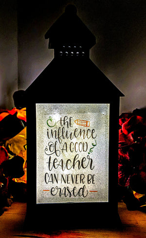 Teacher Inspired Lantern