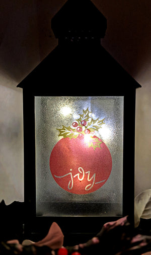 Merry and Bright LED Lantern