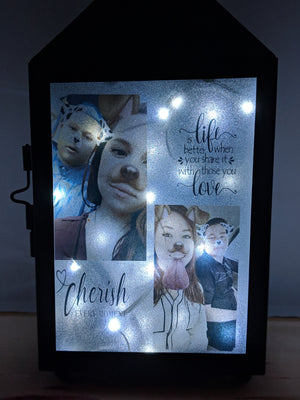 Personalized Photo Lantern