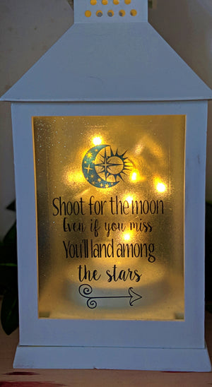 Shoot for the Moon LED Lantern