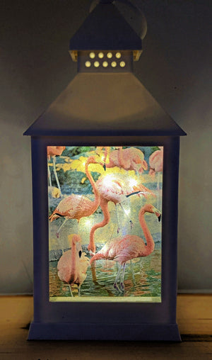 Flamingo LED Lantern
