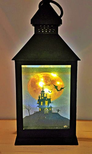 Happy Haunting LED Lantern