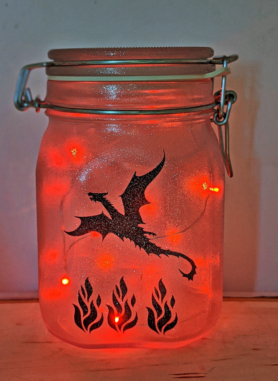 Decorative Dragon Jar