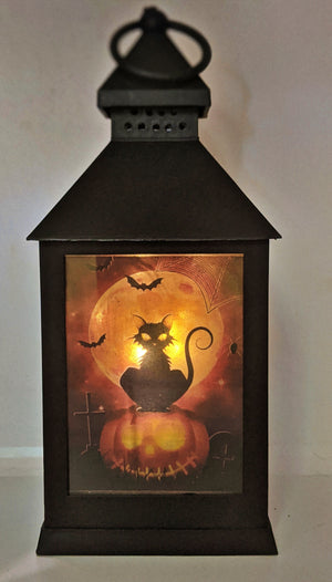 Have a Spooktacular Halloween LED Lantern