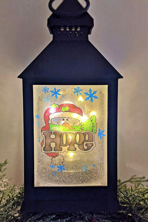 Christmas Inspiration LED Lantern