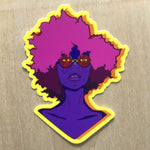 Pink Fro (STICKER)
