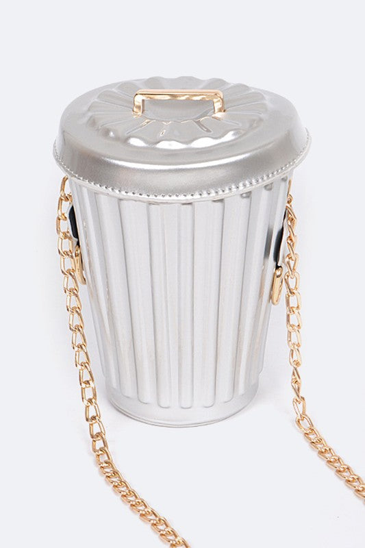 Trash Can Cross body Bag - Mint Leafe Boutique