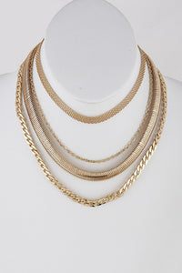 Gold Chainlink Necklace - Mint Leafe Boutique