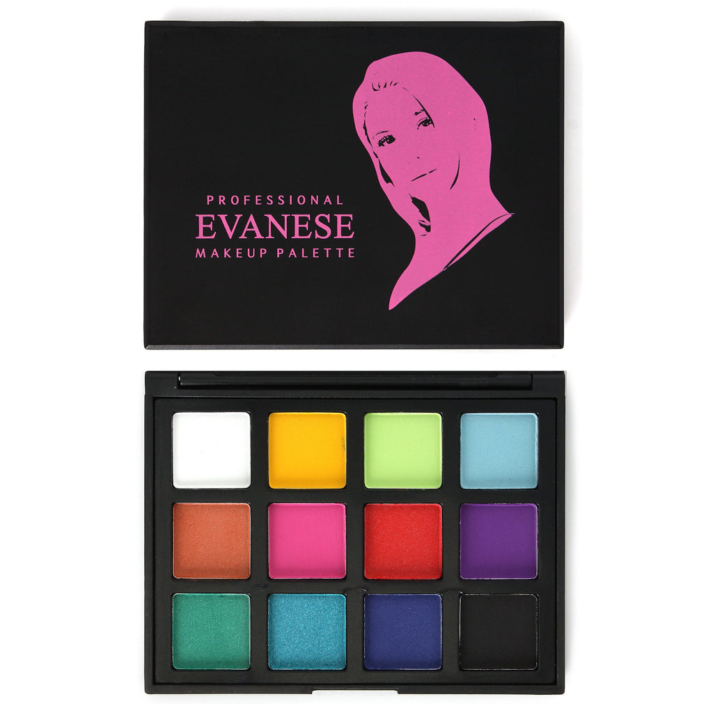Professional  12 Color High Pigment Eyeshadow Palette Pink - Mint Leafe Boutique