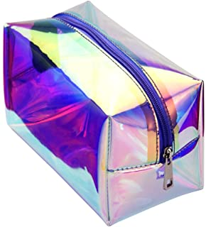 Hologram Travel Cosmetic Bag - Mint Leafe Boutique