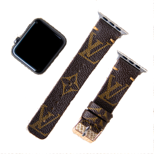 Apple Watch Band Classic LV Monogram - Mint Leafe Boutique