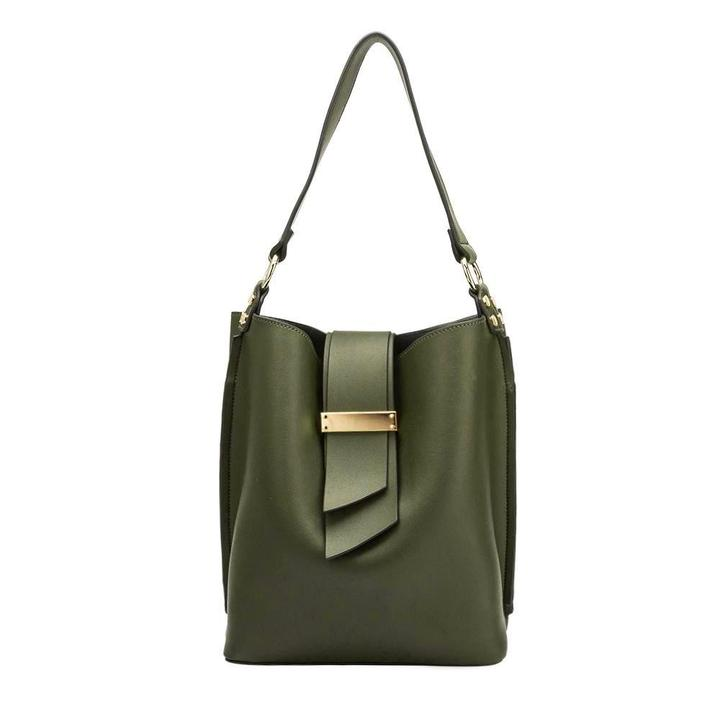 The Alessia Satchel Olive - Mint Leafe Boutique
