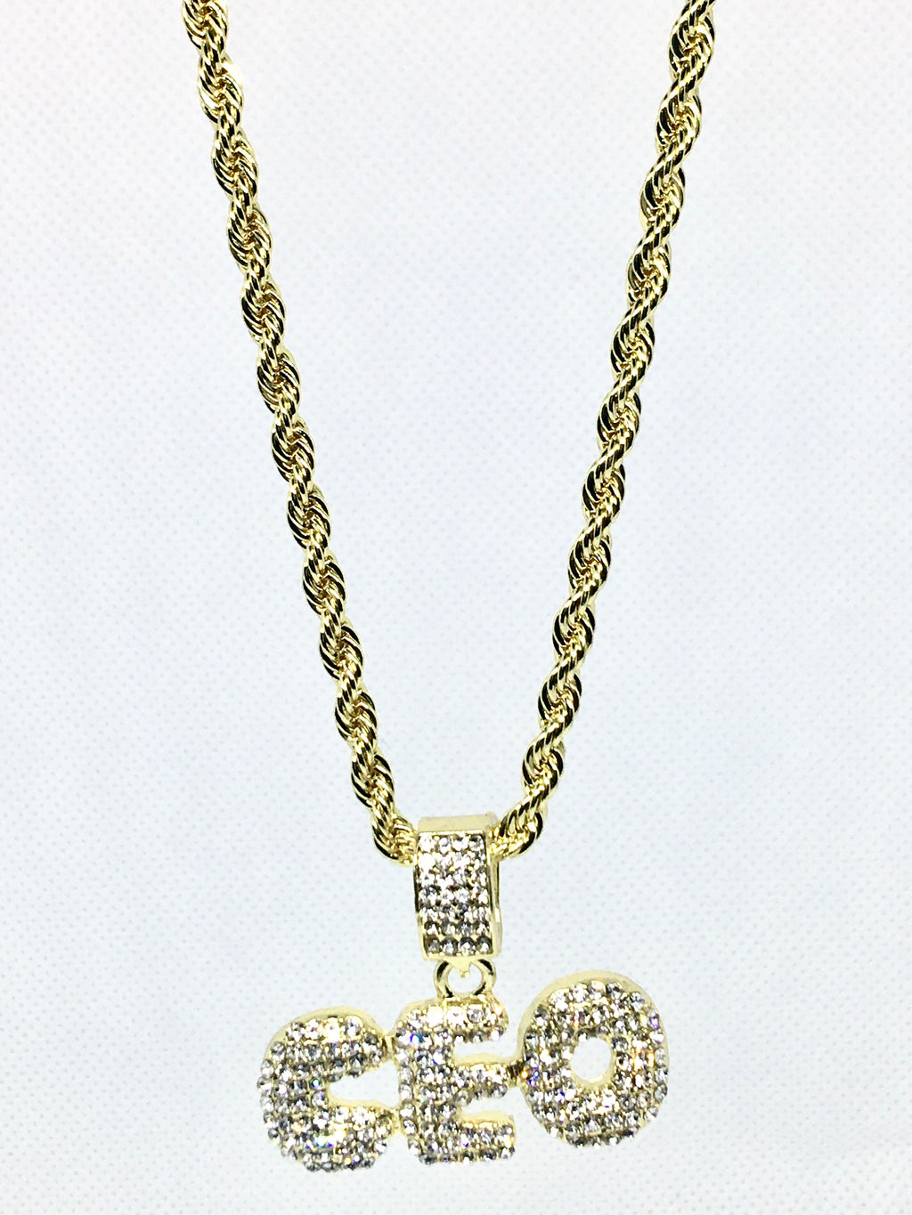 """The CEO""Bling Necklace - Mint Leafe Boutique"