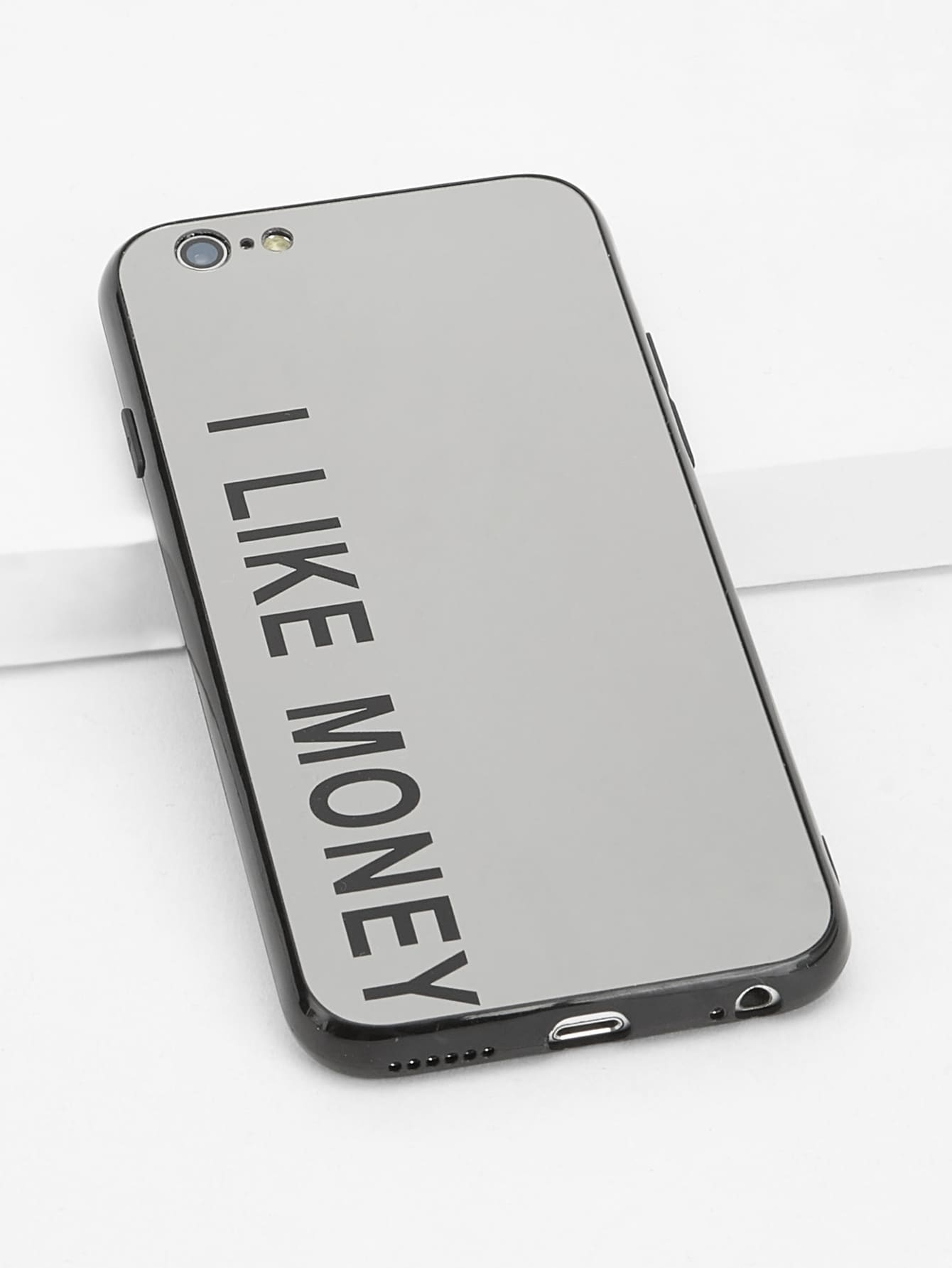 """I LIKE MONEY"" iPhone Case - Mint Leafe Boutique"