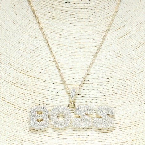 I'm a BOSS Necklace - Mint Leafe Boutique